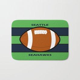 Seahawks Fans, Seattle Football Bath Mat