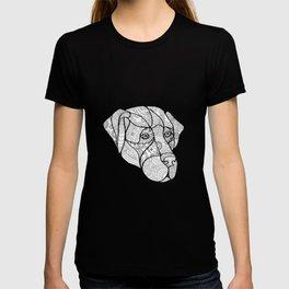 Labrador Retriever Mandala T-shirt