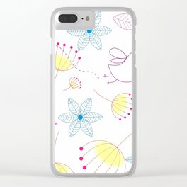 In The Springtime,Tra La La Clear iPhone Case