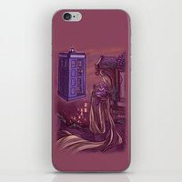 hallion iPhone & iPod Skins featuring You Comin' Blondie?  by Karen Hallion Illustrations