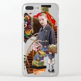 Like a Horse by Lenka Laskoradova Clear iPhone Case