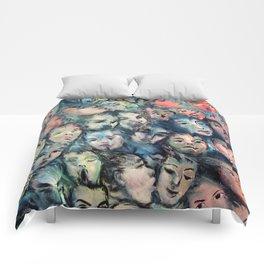 face, face, face Comforters