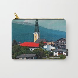 A village in autumn season Carry-All Pouch