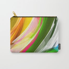 Spring Wave Carry-All Pouch