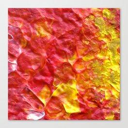 Fire Spiral Canvas Print