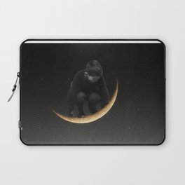 Ride on the moon Laptop Sleeve