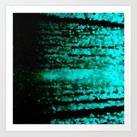 teal Art Prints featuring Teal  by 2sweet4words Designs