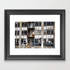 Colorful Abandon Framed Art Print