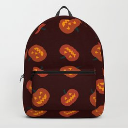 Jack-o-lanterns & Pattern Backpack