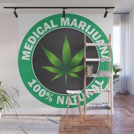 Medical Marijuana Wall Mural
