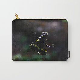 Poison Dart Frog- Leucomelas Belly Carry-All Pouch