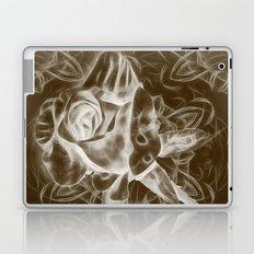 Rose infrared in brown Laptop & iPad Skin