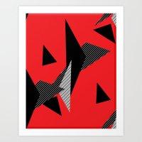 Razmatazz Art Print