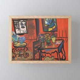 After Matisse, Red Room Framed Mini Art Print