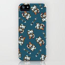 Maneki Neko Marron iPhone Case