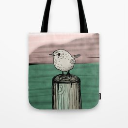 Lone Wren Tote Bag