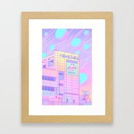 Harajuku Soda Pop Framed Art Print