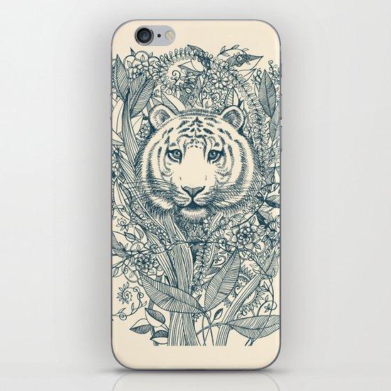 Tiger Tangle iPhone & iPod Skin