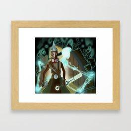 Ekko Framed Art Print