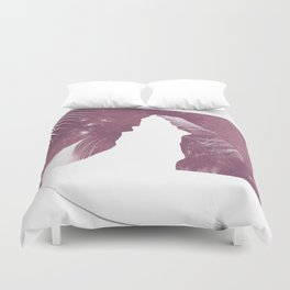 Matterhorn feather Duvet Cover