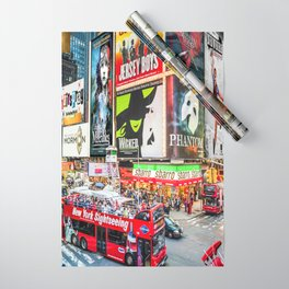 Times Square II Special Edition II Wrapping Paper