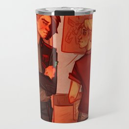 Met in a record store Travel Mug