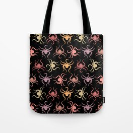 Octopus Pattern (urn/leaf colors) Tote Bag