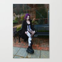 android Canvas Prints featuring Android by Toxic Tears