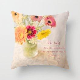 Summer Floral* Throw Pillow