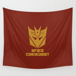 Space Communist Wall Tapestry