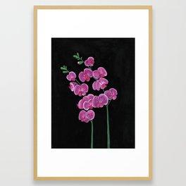 Pea Plant Framed Art Print