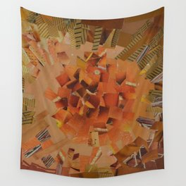 """""""The Hot Energy"""" Ecologic atypic art - 1/3 - by WHITEECO Ecologic design Wall Tapestry"""