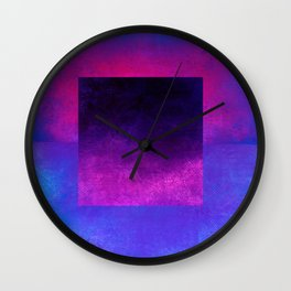 Square Composition VIII Wall Clock