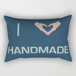 I heart Handmade Rectangular Pillow