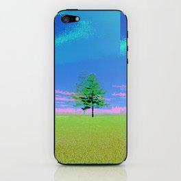 triple tree  iPhone Skin