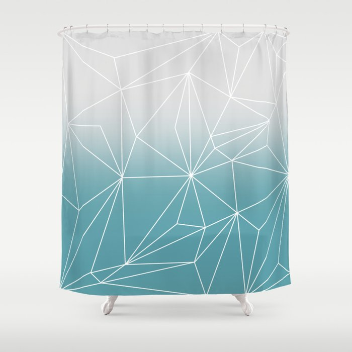 Simplicity 2 Shower Curtain