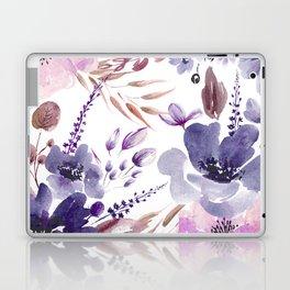 Watercolor giant flowers Laptop & iPad Skin
