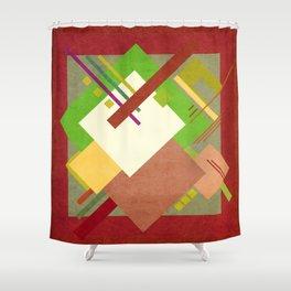 Geometric illustration 46 Shower Curtain