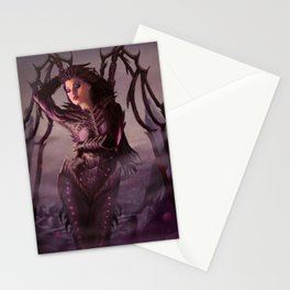 Queen of Blades Stationery Cards