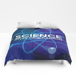 Science gives me a hadron Comforters