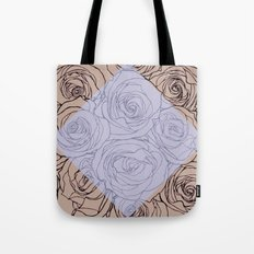 Art Nouveau Rose Tote Bag