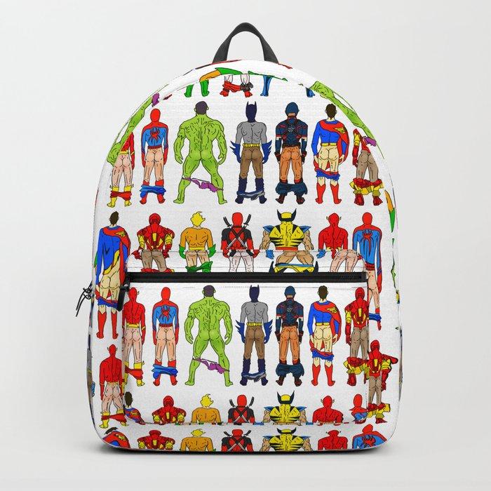 Superhero Butts Rucksack