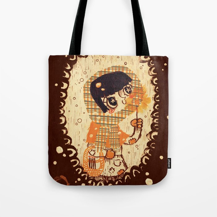 The Little Match Girl 卖火柴の小女孩 Tote Bag