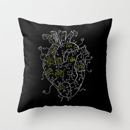 Gaming Control Tools | Heart Throw Pillow