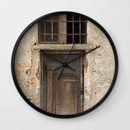 Door number thirteen (13) Wall Clock