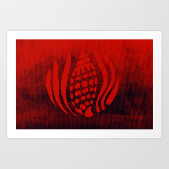 Red Sea Art Print