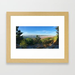 Brisk Morning Framed Art Print