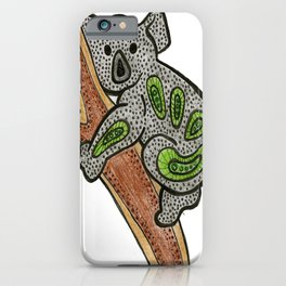 Aboriginal Koala iPhone Case