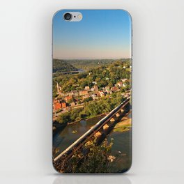 Harpers Ferry & Potomac River Overlook iPhone Skin