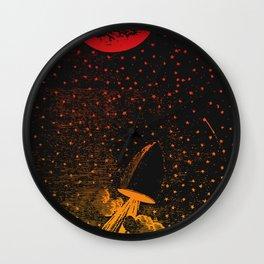 Nineteenth Century Space Travel Wall Clock
